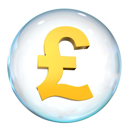Pound Currency Bubble Stock Photo - 21959929