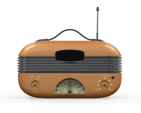 Retro Vintage Radio Stock Photo - 22033880