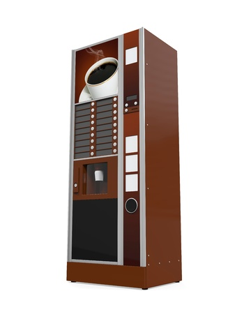 dispenser: Coffee Vending Machine
