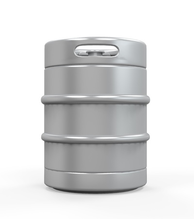 Metal Beer Keg photo