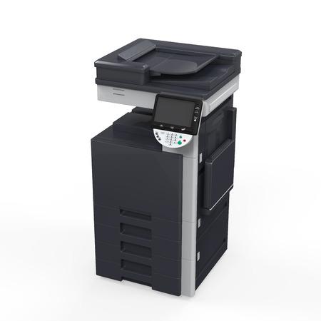 fotocopiadora: Oficina Impresora multifunci?n Foto de archivo