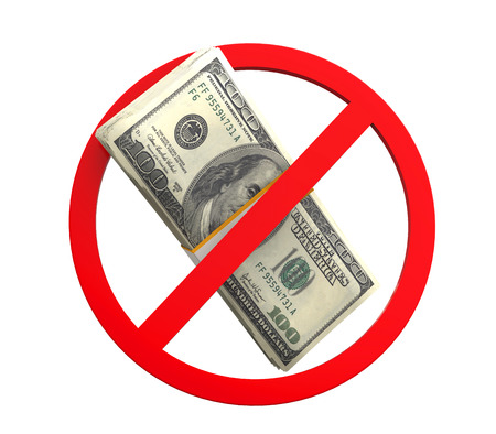 No Money Symbol photo