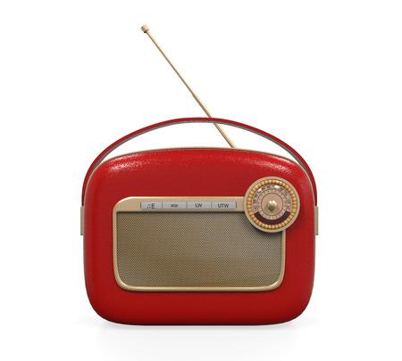 Retro Vintage Radio Reklamní fotografie - 22706939
