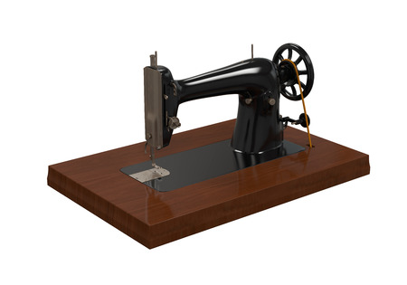 stitching machine: Antique Sewing Machine