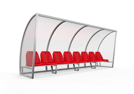 player bench: Soccer Player Bench