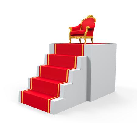 king chair: King Throne Chair