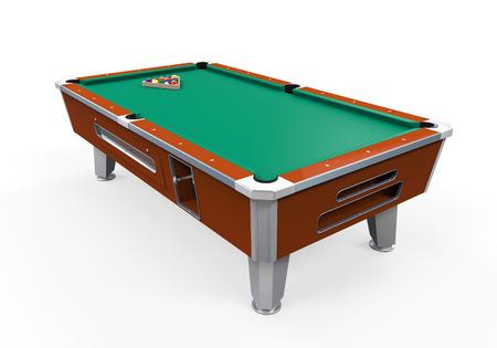 Billiard Table Isolated photo