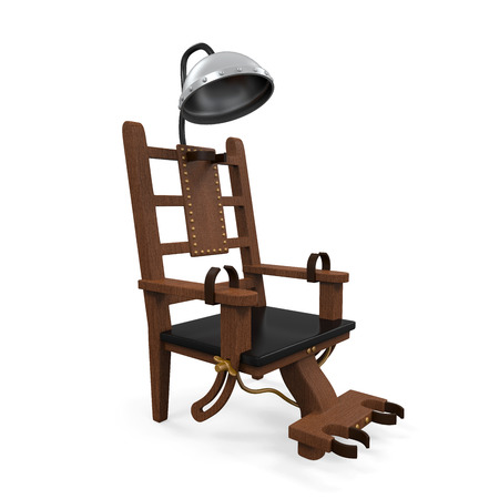 Electric Chair Isolated photo