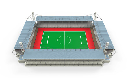 supporters: Stadium Building Isolated