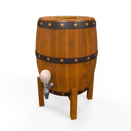 Wooden Beer Cask Stock Photo - 24565627