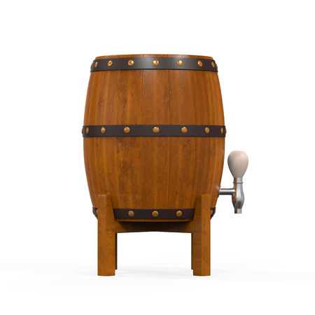 Wooden Beer Cask photo