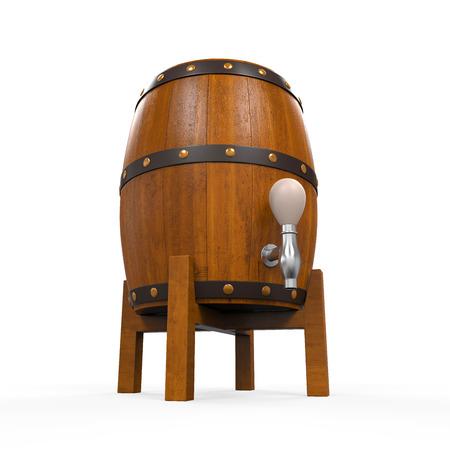 Wooden Beer Cask Stock Photo - 24565723