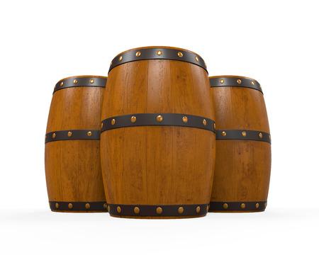 Wooden Beer Cask Stock Photo - 24565727