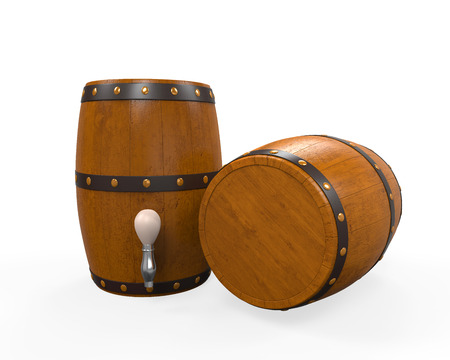 Wooden Beer Cask Stock Photo - 24565725