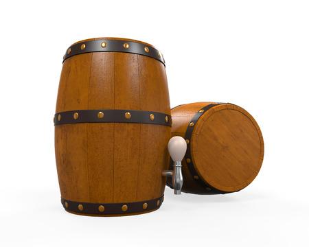 Wooden Beer Cask Stock Photo - 24565728