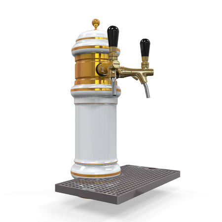 Beer Tap Isolated Stock Photo - 24566082
