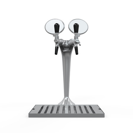 Beer Tap Isolated Stock Photo - 24568264