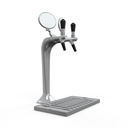 Beer Tap Isolated Stock Photo - 24568265