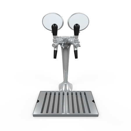 Beer Tap Isolated Stock Photo - 24568426