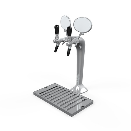 Beer Tap Isolated Stock Photo - 24568424