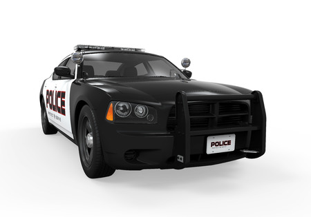 Police Car Isolated photo