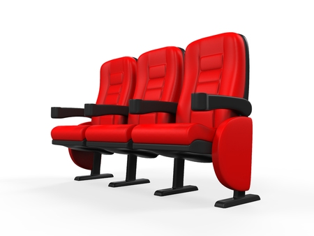 Red Theater Seat photo
