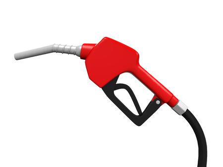 nozzle: Gas Pump Nozzle Stock Photo