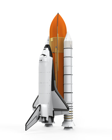 Space Shuttle Isolated photo