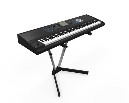 synthesizer: Black Synthesizer