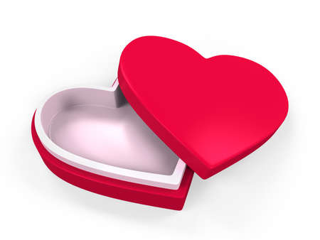 Heart Shaped Gift Box photo