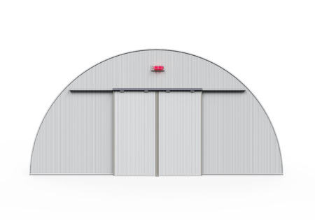 Hangar Building Isolated photo