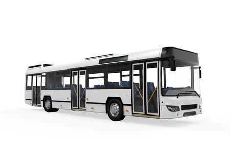 parada de autobus: City Bus Aislado