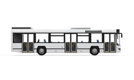 bus stop: City Bus aislada