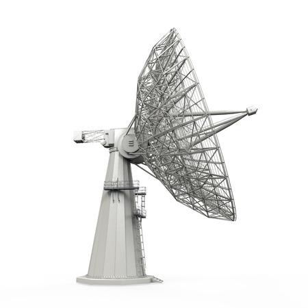 broadband: Satellite Dish Antenna Stock Photo