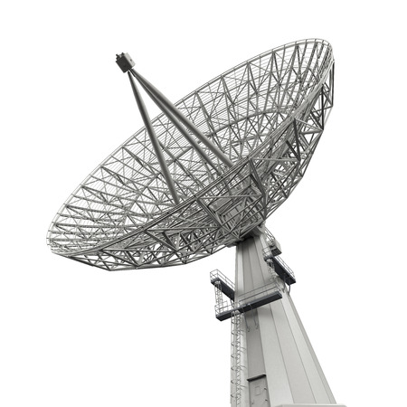 transmitter: Satellite Dish Antenna Stock Photo