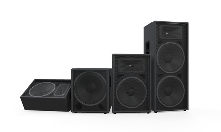 Group of Speakers Stock Photo - 27107843