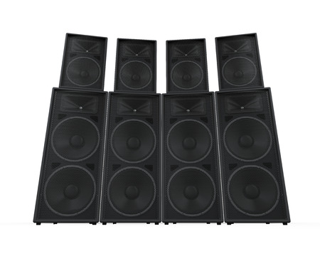 Group of Speakers Stock Photo - 27107855