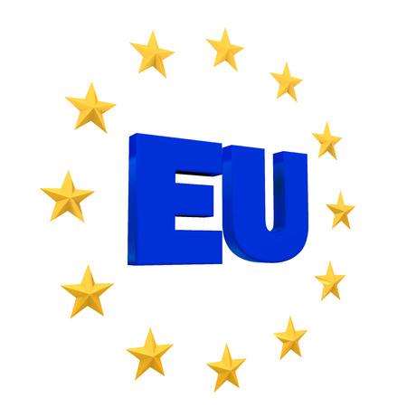 eu flag: European Union Symbol