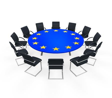 chambers: European Union Round Meeting Table