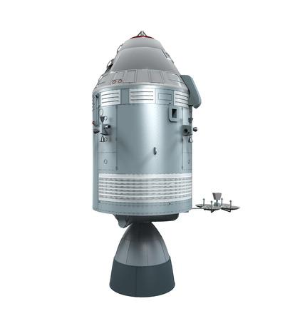 Apollo Command Service Module Stock Photo