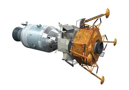 Apollo Module Docking Imagens - 27108064