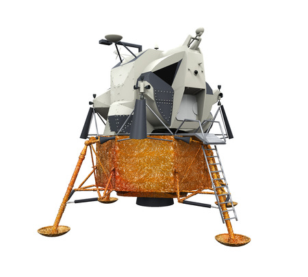 Apollo Lunar Module Stock Photo
