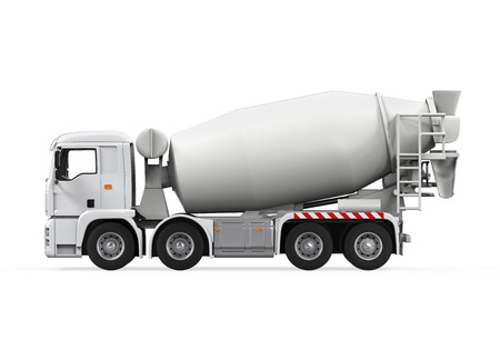 Concrete Mixer Truck photo