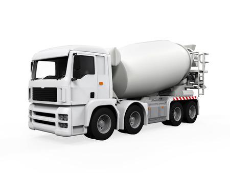 Camion à Bétonnière