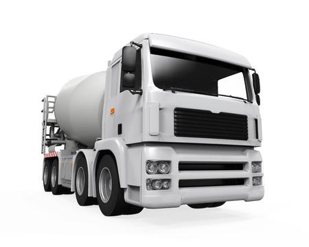 Concrete Mixer Truck photo
