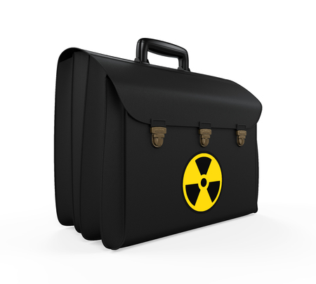 warhead: Nuclear Football Briefcase Stock Photo