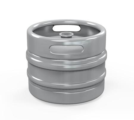 Metal Beer Keg photo