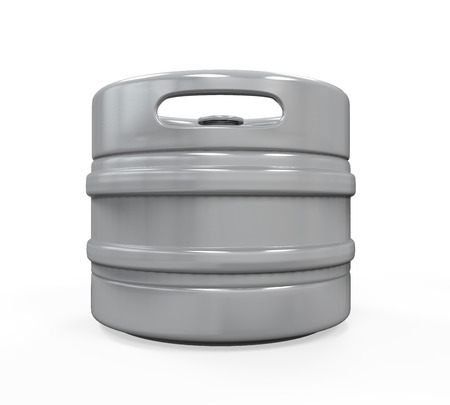 beer can: Metal Beer Keg