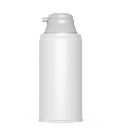Shaving Cream Bottle
