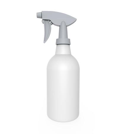 gatillo: Rocíe limpiador de botella Foto de archivo